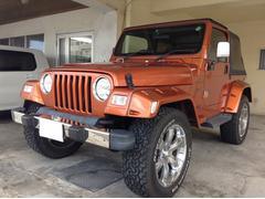 沖縄の中古車 クライスラー・ジープ クライスラージープ ラングラー 車両価格 109万円 リ済別 2002年 8.1万K オレンジ
