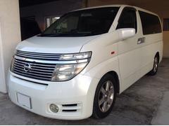 沖縄の中古車 日産 エルグランド 車両価格 39万円 リ済別 平成15年 11.4万K パール
