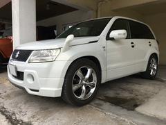 沖縄の中古車 スズキ エスクード 車両価格 49万円 リ済別 平成17年 9.8万K パール