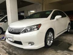 沖縄の中古車 レクサス HS 車両価格 119万円 リ済別 平成23年 10.9万K パールホワイト