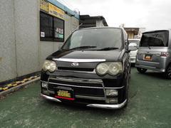 沖縄の中古車 ダイハツ ムーヴ 車両価格 24万円 リ済込 平成15年 15.7万K ブラックM