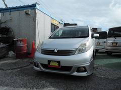 沖縄の中古車 トヨタ アイシス 車両価格 29万円 リ済込 平成17年 11.9万K シルバーM