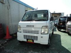 沖縄の中古車 スズキ キャリイトラック 車両価格 34万円 リ済込 平成14年 11.2万K ホワイト