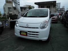 沖縄の中古車 スズキ アルト 車両価格 27万円 リ済込 平成23年 12.6万K ホワイト