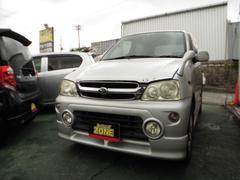 沖縄の中古車 ダイハツ テリオスキッド 車両価格 11万円 リ済込 平成12年 14.0万K シルバー