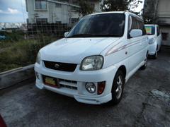 沖縄の中古車 スバル プレオ 車両価格 14万円 リ済込 平成11年 15.1万K ホワイト