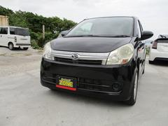 沖縄の中古車 ダイハツ ミラカスタム 車両価格 29万円 リ済込 平成19年 10.5万K ブラックM