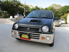 沖縄の中古車 スズキ アルトワークス 車両価格 23万円 リ済込 平成8年 8.8万K ツートン