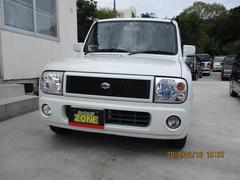 沖縄の中古車 スズキ アルトラパン 車両価格 20万円 リ済込 平成17年 12.4万K パールホワイト