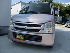 沖縄の中古車 スズキ ワゴンR 車両価格 24万円 リ済込 平成18年 9.2万K ピンクM