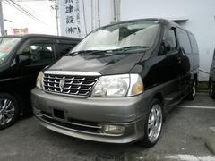 沖縄の中古車 トヨタ グランドハイエース 車両価格 14万円 リ済込 平成12年 16.7万K ブラックII
