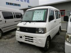 沖縄の中古車 三菱 ミニキャブバン 車両価格 28万円 リ済込 平成14年 11.4万K ホワイト
