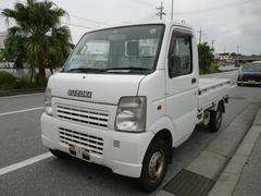 沖縄の中古車 スズキ キャリイトラック 車両価格 34万円 リ済込 平成17年 7.6万K ホワイト