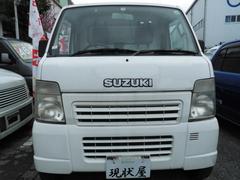 沖縄の中古車 スズキ キャリイトラック 車両価格 44万円 リ済込 平成19年 13.0万K ホワイト