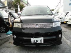 沖縄の中古車 トヨタ ヴォクシー 車両価格 44万円 リ済込 平成18年 10.0万K ブラック