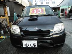 沖縄の中古車 スズキ Kei 車両価格 12万円 リ済込 平成15年 13.0万K ブラック