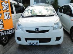 沖縄の中古車 ダイハツ ミラ 車両価格 28万円 リ済込 平成25年 14.8万K ホワイト