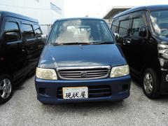 沖縄の中古車 ダイハツ ムーヴ 車両価格 8万円 リ済込 平成13年 13.0万K ブルー