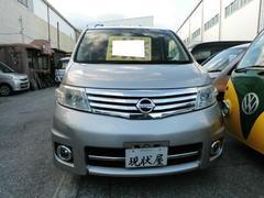 沖縄の中古車 日産 セレナ 車両価格 48万円 リ済込 平成18年 8.3万K シルバー