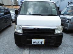 沖縄の中古車 ホンダ バモス 車両価格 17万円 リ済込 平成14年 25.5万K ダークブルー
