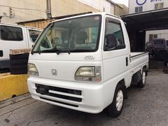 沖縄の中古車 ホンダ アクティトラック 車両価格 28万円 リ済込 平成11年 16.0万K ホワイト