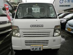 沖縄の中古車 スズキ キャリイトラック 車両価格 28万円 リ済込 平成17年 14.7万K ホワイト