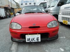 沖縄の中古車 スズキ カプチーノ 車両価格 38万円 リ済込 平成3年 16.9万K レッド