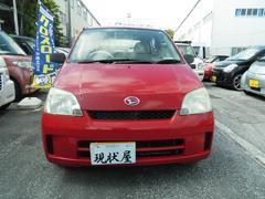 沖縄の中古車 ダイハツ ミラ 車両価格 14万円 リ済込 平成15年 8.6万K レッド