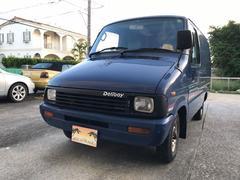 沖縄の中古車 トヨタ デリボーイ 車両価格 80万円 リ済込 平成3年 18.5万K ダークブルー