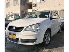 沖縄の中古車 フォルクスワーゲン VW ポロ 車両価格 50万円 リ済込 2008年 5.5万K ホワイト