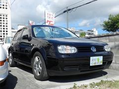 沖縄の中古車 フォルクスワーゲン VW ゴルフ 車両価格 50万円 リ済込 2004年 2.0万K ブラック