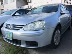 沖縄の中古車 フォルクスワーゲン VW ゴルフ 車両価格 60万円 リ済別 2008年 4.1万K シルバー