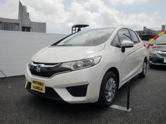 沖縄の中古車 ホンダ フィット 車両価格 119.8万円 リ済込 平成28年 1.0万K パール