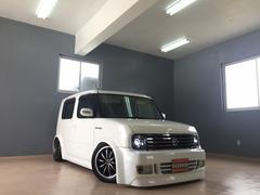 沖縄の中古車 日産 キューブ 車両価格 37万円 リ済込 平成15年 5.5万K パールホワイト