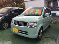 沖縄の中古車 三菱 eKワゴン 車両価格 55万円 リ済別 平成23年 4.3万K ミントグリーンソリッド