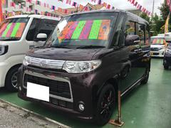 沖縄の中古車 ダイハツ タント 車両価格 89万円 リ済別 平成24年 5.8万K ダークパープル