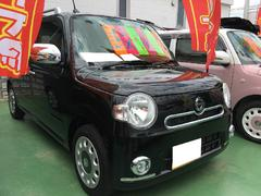 沖縄の中古車 ダイハツ ミラココア 車両価格 89万円 リ済別 平成25年 6.4万K ブラック