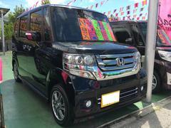 沖縄の中古車 ホンダ N BOXカスタム 車両価格 139万円 リ済別 平成27年 1.1万K ブラックM