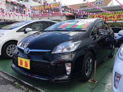 沖縄の中古車 トヨタ プリウス 車両価格 139万円 リ済別 平成24年 6.0万K ブラック