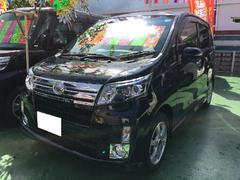 沖縄の中古車 ダイハツ ムーヴ 車両価格 89万円 リ済別 平成25後 3.7万K ブラック