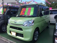 沖縄の中古車 ダイハツ タント 車両価格 105万円 リ済別 平成27年 1.9万K マスカットグリーンメタリック