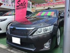 沖縄の中古車 トヨタ カムリ 車両価格 135万円 リ済別 平成23年 10.1万K グレーメタリック