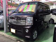 沖縄の中古車 マツダ スクラムワゴン 車両価格 98万円 リ済別 平成23年 4.9万K ミステリアスバイオレットパール