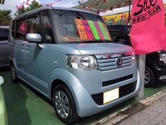 沖縄の中古車 ホンダ N BOX 車両価格 89万円 リ済別 平成24年 3.3万K クールミストメタリック