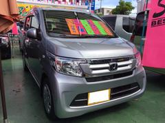 沖縄の中古車 ホンダ N−WGN 車両価格 98万円 リ済別 平成28年 0.4万K シルバーM