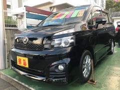 沖縄の中古車 トヨタ ヴォクシー 車両価格 119万円 リ済別 平成22年 7.2万K ブラック