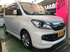 沖縄の中古車 スズキ ソリオバンディット 車両価格 109万円 リ済別 平成25年 4.8万K パールホワイト