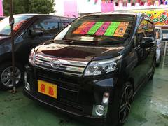 沖縄の中古車 ダイハツ ムーヴ 車両価格 79万円 リ済別 平成24年 4.4万K ブラックマイカメタリック