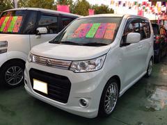 沖縄の中古車 スズキ ワゴンRスティングレー 車両価格 79万円 リ済別 平成24年 6.0万K パールホワイト