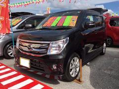 沖縄の中古車 マツダ フレア 車両価格 99万円 リ済別 平成28年 0.7万K ブルーイッシュブラックパール3